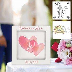 3D - Bilderrahmen zur Hochzeit