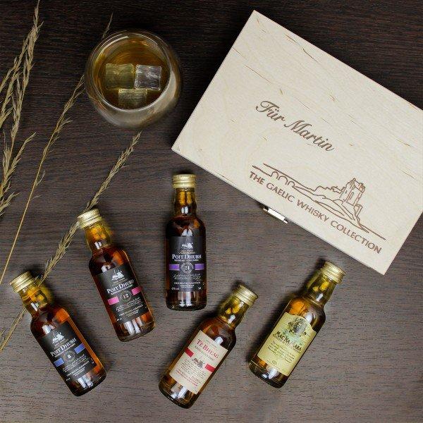 Gaelic Whisky Kollektion - Geschenkset
