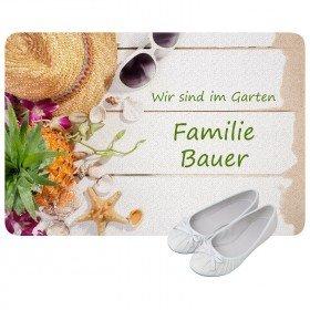 Fußmatte - Garten