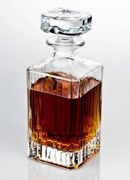 whiskykaraffe-längsschliff