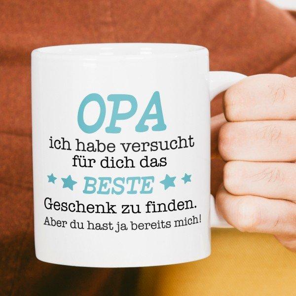 Tasse - Das beste Geschenk für Opa