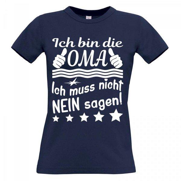 T-Shirt – Ich muss nicht Nein sagen