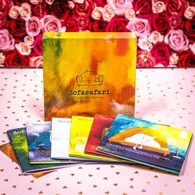 Sofasafari Erlebnisbox - Spiel für Paare