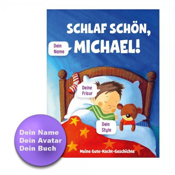 Personalisiertes Kinderbuch - Meine Gute-Nacht Geschichte