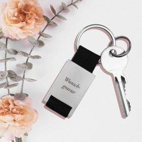 Schlüsselanhänger mit Wunschgravur