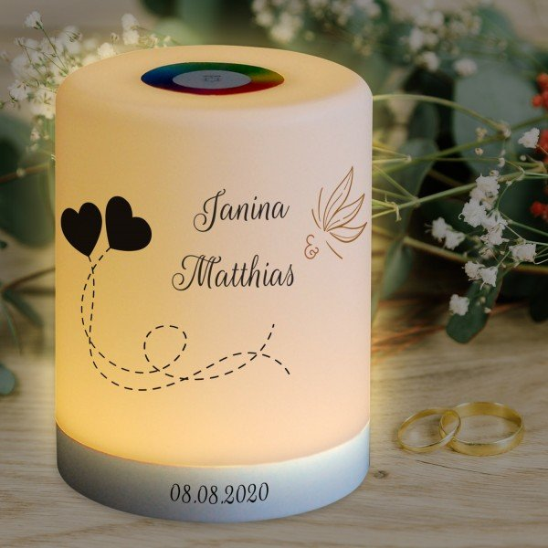 LED Lampe zur Hochzeit