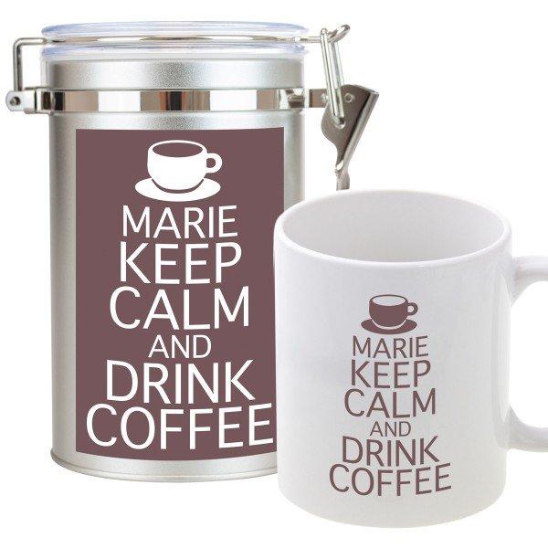 Kaffee-Set - Keep calm and drink coffee