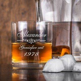 Whiskyglas mit persönlicher Gravur