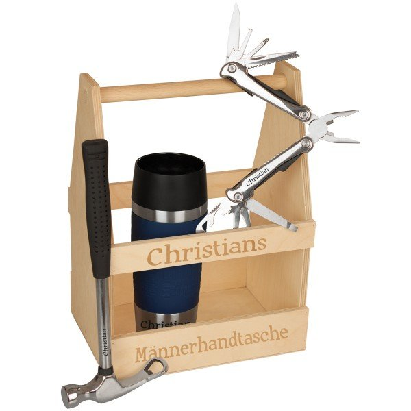 Holzträger - Werkzeugkasten1