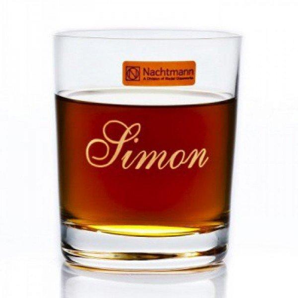 Whiskyglas Nachtmann Classic mit Gravur