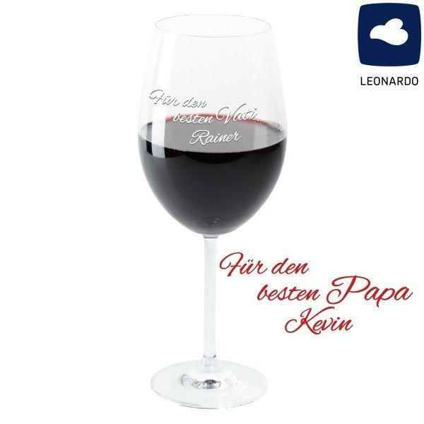 Weinglas - Bester Papa