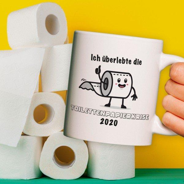 Tasse - Toilettenpapierkrise