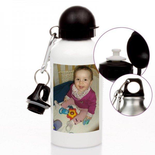 Trinkflasche mit Wunschfoto