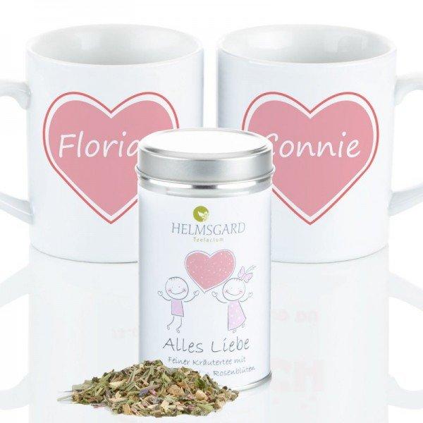 Tee-Set - Alles Liebe (Set)