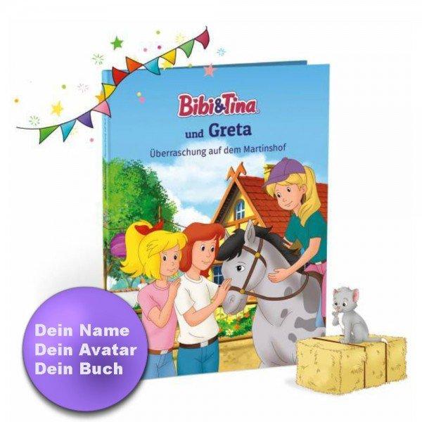 Personalisiertes Kinderbuch - Bibi & Tina und Du auf dem Martinshof