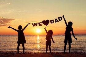 Wir lieben Papa!
