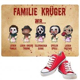 Fußmatte - Familie Horror