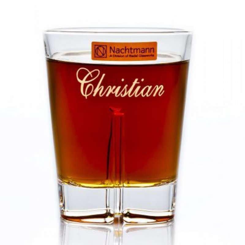 Whiskyglas Nachtmann Havanna mit Gravur