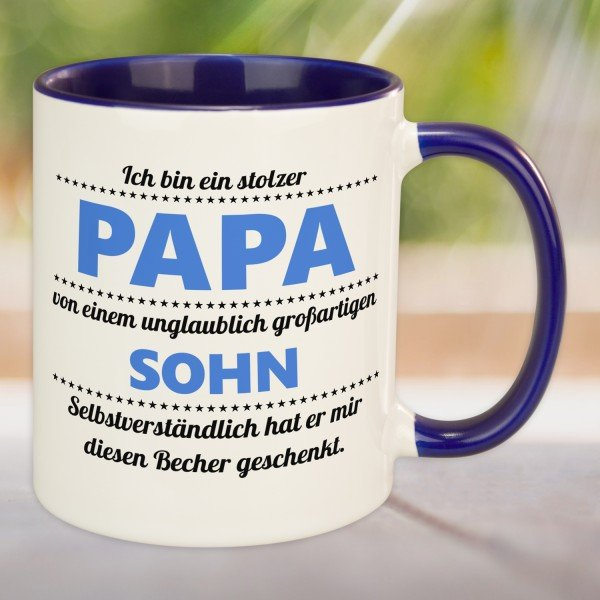 Tasse - stolzer Papa