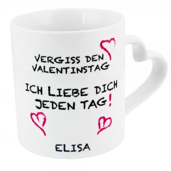 - Tasse Vergiss den Valentinstag - Onlineshop Geschenke24