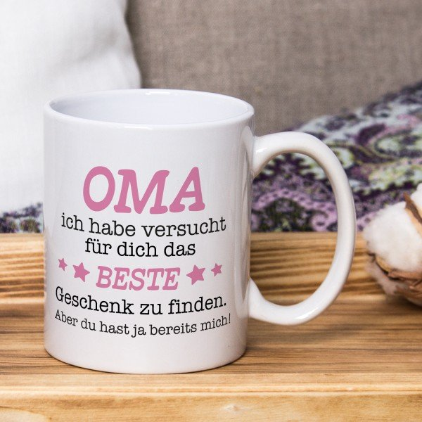Tasse - Das beste Geschenk für Oma
