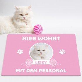 Fußmatte - Katze/n mit Personal
