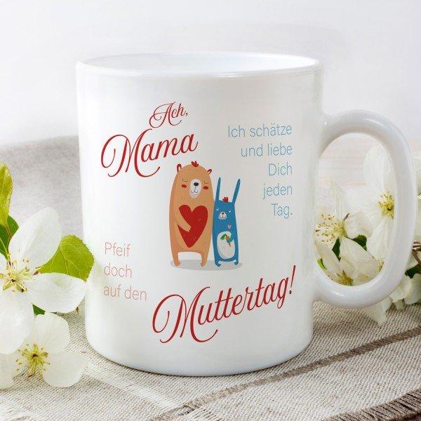 - Tasse Pfeif auf Muttertag - Onlineshop Geschenke24