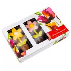 Blumenstrauß aus Schokolade