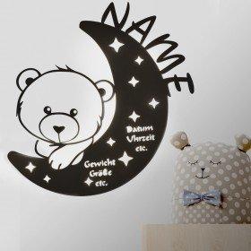 Schlummerlicht Bär mit Name
