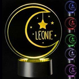 LED Mond mit Personalisierung
