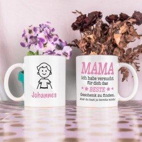 Tasse - Das beste Geschenk für Mama