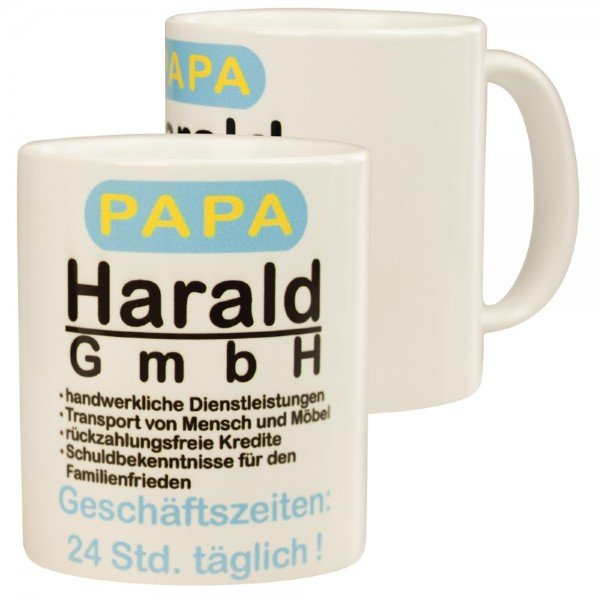Becher Firma Papa