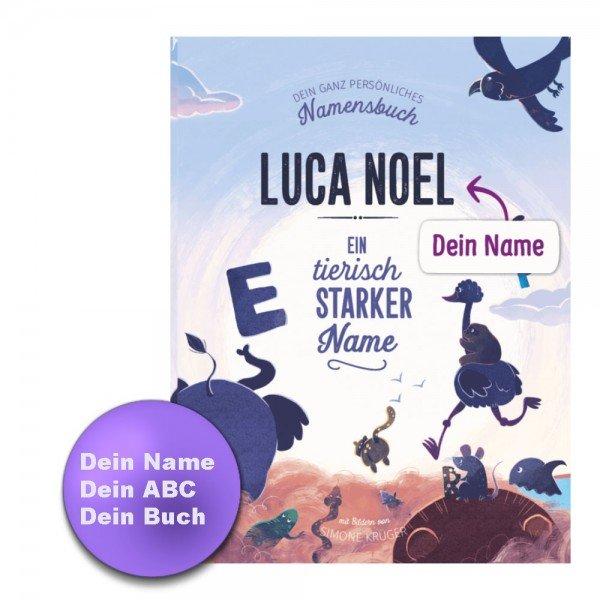 Dein Namensbuch - Personalisiertes Buch ABC