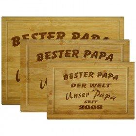 Holzbrettchen - Vatertag