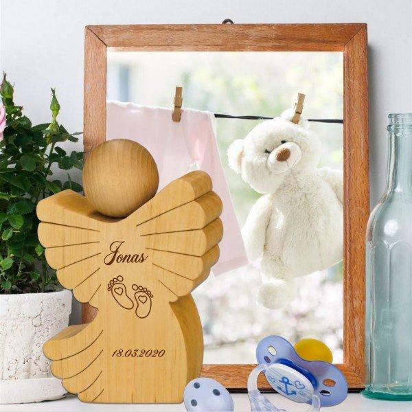 - Schutzengel zur Geburt mit Personalisierung - Onlineshop Geschenke24