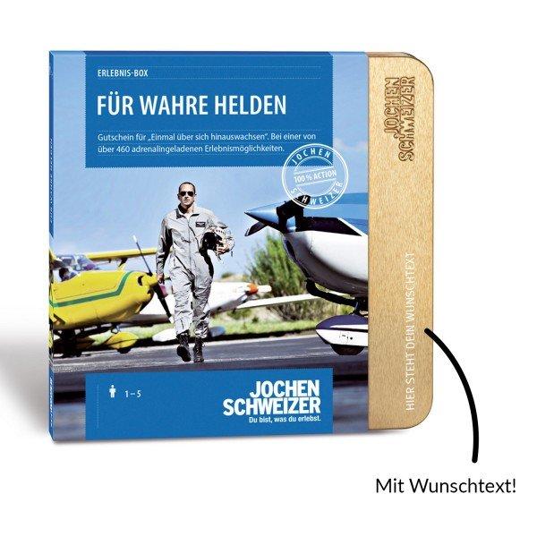 Erlebnis-Box Für wahre Helden von Jochen Schweizer