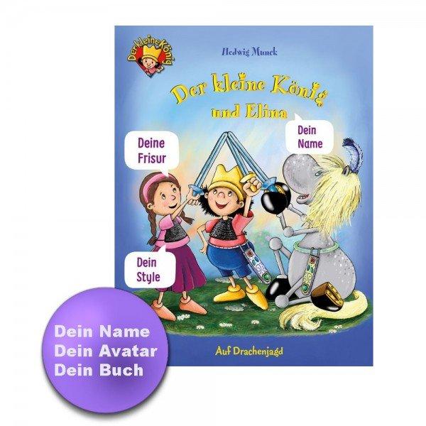 Personalisiertes Kinderbuch - Der kleine König und Du