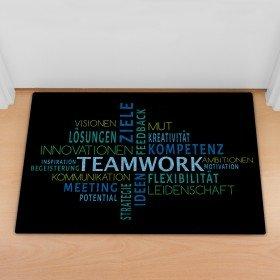 Fußmatte - Teamwork
