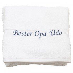 Handtuch - Bester Opa
