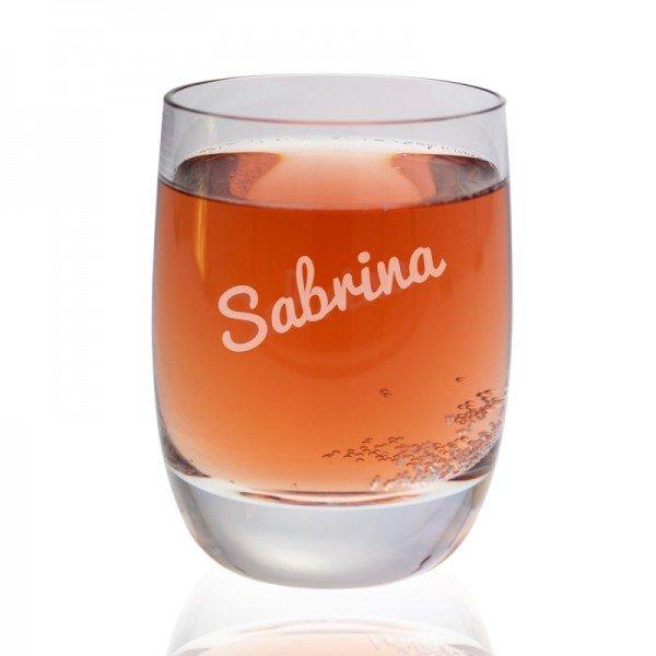 Villeroy & Boch Glas mit Namensgravur (Glas)