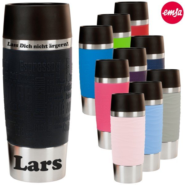 Thermobecher Emsa - Travel Mug mit Gravur