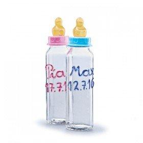 Babyflasche mit Namen