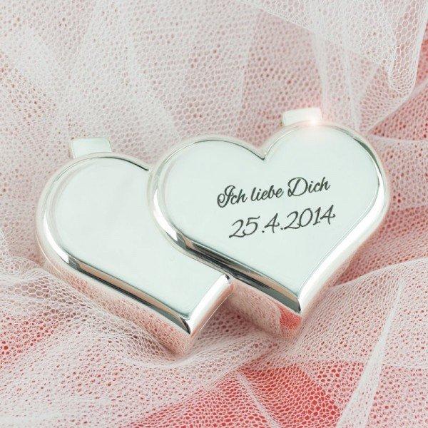 Herzdose mit Wunschgravur
