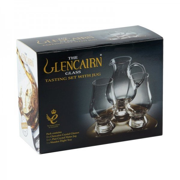 Whiskyglas Set mit Krug - The Glencairn Glass Tasting Set (Set)