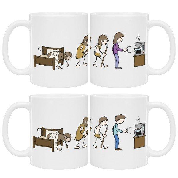 Tasse - Kaffee Evolution