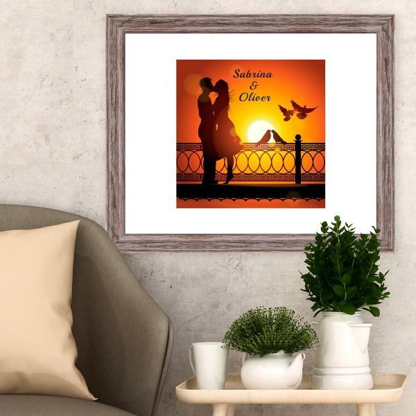 Wandbild - Romantik