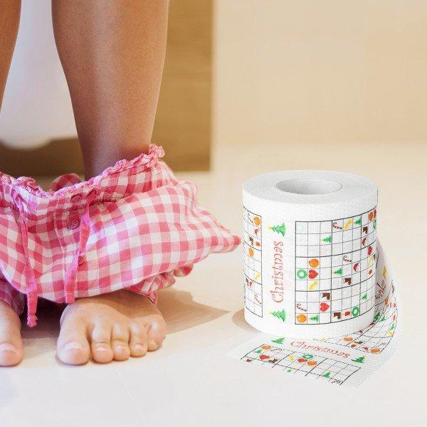 Witzigspassgeschenke - Toilettenpapier Xmas Sudoko - Onlineshop Geschenke24