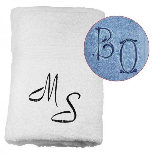 Handtuch mit Initialien