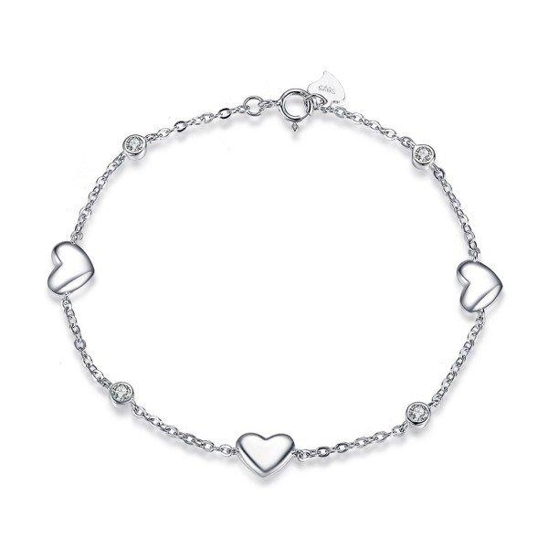 Armband mit drei Herzen