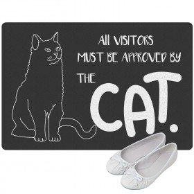 Fußmatte - Katze mit Namensdruck